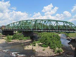 Great River Bridge, northbound span, Westfield MA.JPG