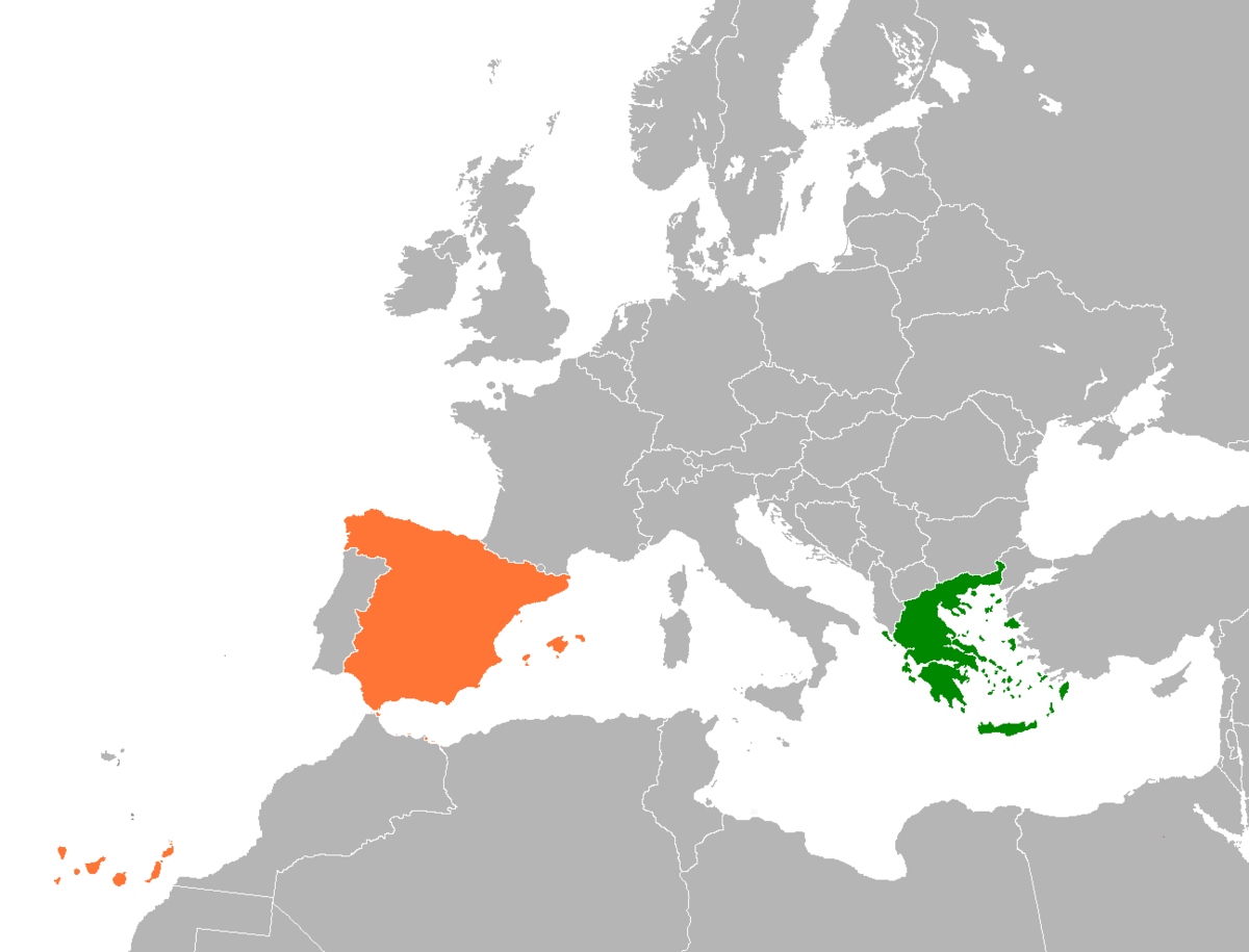 Greece–Spain relations   Wikipedia