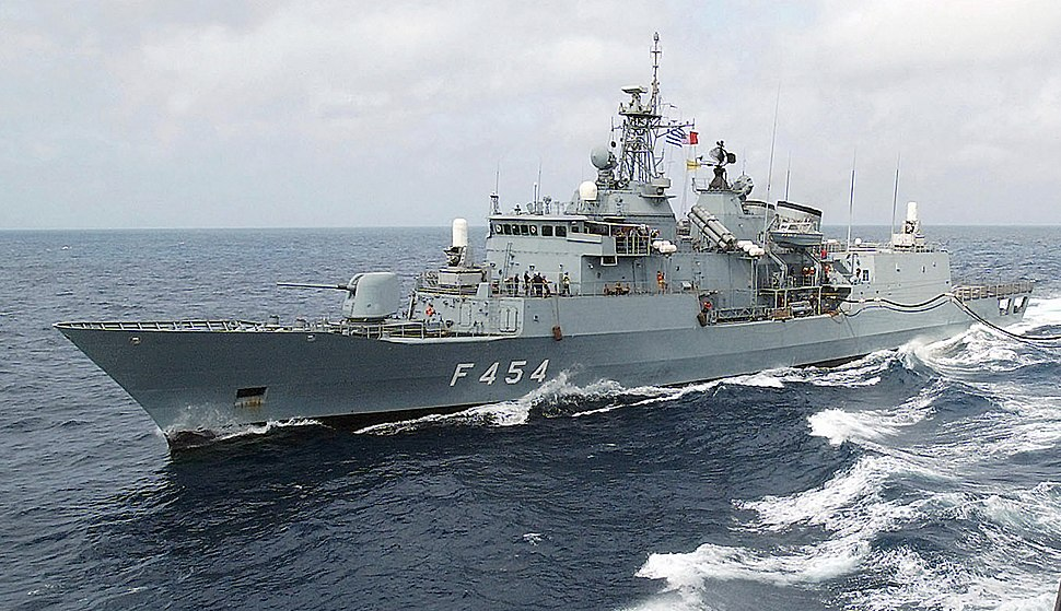 Greek frigate Psara (F454)