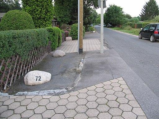 Grenzstein Derbyweg 5