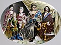 Grigorii Semenovich Musikiiskii - Portrait Medallion of Peter the Great and Family - Walters 44326.jpg