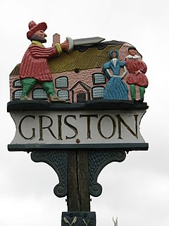 Griston - village sign - geograph.org.uk - 701999.jpg