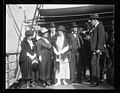 Group on deck of USS Sylph? Josephus Daniels, 3rd from right; Sir Auckland Geddes? right LCCN2016863183.jpg