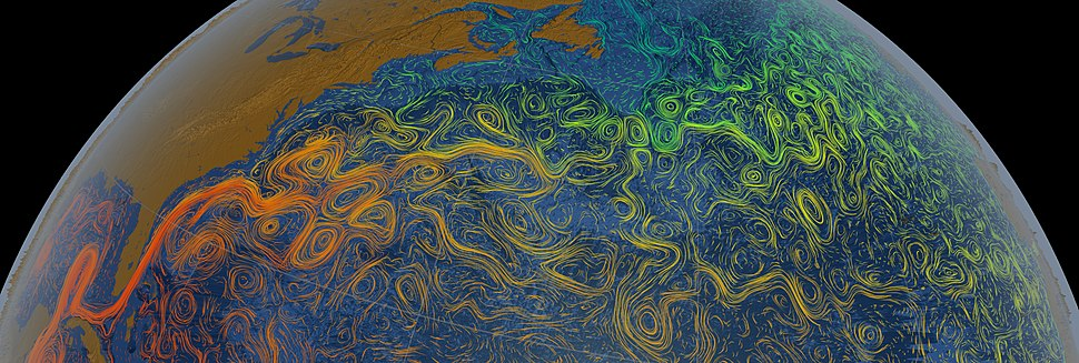 Gulf Stream Sea Surface Currents and Temperatures NASA SVS