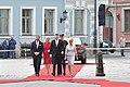 Gundars Daudze piedalās Norvēģijas kroņprinča un kroņprinceses oficiālajā sagaidīšanas ceremonijā (39833934550).jpg