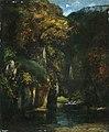 Gustave Courbet (1819-1877) - Le ruisseau du puits noir - 1955.104 - Manchester Art Gallery.jpg
