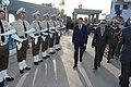 Hédi Majdoub à la cérémonie de fin de formation de la 6ème formation d'adjudants et la 69ème formation de sergents de la garde nationale, 2016.jpg