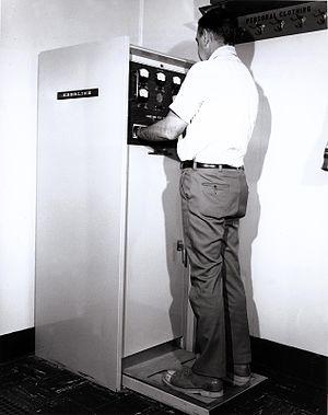 Howard Clayton Eberline - Eberline Hand and Foot monitor
