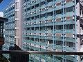 HKU SYP Pokfulam Road Sai Ying Pun 嘉道理生物科學大樓 Kadoorie Biological Sciences Building KBSB facade SSG Sept 2018 05.jpg