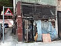 HK 上環 Sheung Wan 太平山街 Tai Ping Shan Street shop gates Thursday morning October 2019 SS2 02.jpg