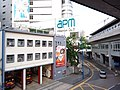 HK 觀塘 Kwun Tong 開源道 Hoi Yuen Road MTR exit footbridge view October 2018 SSG 22.jpg