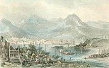 香港-香港開埠-HK Island 1840
