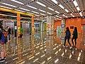 HK PolyU Hung Hom Bay Campus 8 Hung Lok Road lift lobby hall interior Mar-2013.JPG