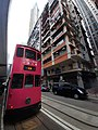 HK Tram 94 tour view Island North red tram October 2020 SS2.jpg