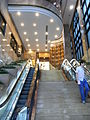 HK Wan Chai 326-338 Hennessy Road 北海中心 CNT Tower entrance stairs July-2012.JPG