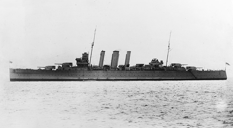HMAS Australia (D84) circa in 1932-1933