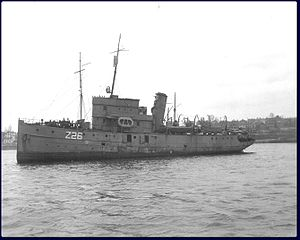 HMCS Cartier, possibly circa 1939-1941