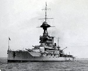 Iron Duke-class battleship - Emperor of India