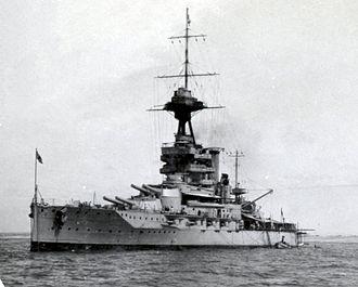 Iron Duke-class battleship - Emperor of India