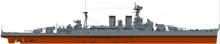 HMS Hood Type 51 Battlecruiser / Admiral class