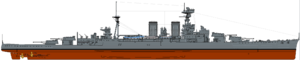 HMS Hood (1921) profile drawing.png