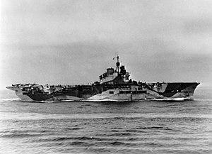 HMS Unicorn (I72) underway in the Atlantic 1943.jpg