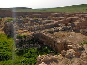 Ebla - The vizier palace