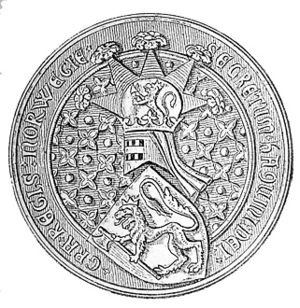 Military history of Iceland - The Great Seal of King Hákon V