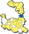 Haar bei Muenchen - Lage im Landkreis.png