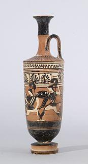 ancient attic-greek black-figure vase-painter