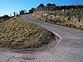 Hairpin bend below Llecheiddior-Uchaf Farm - geograph.org.uk - 1760928.jpg