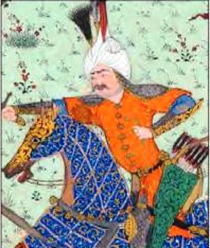 Hojir - Hojir in the Shahnameh of Shah Tahmasp