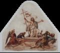 Halfing Friedhofskapelle Fresko der Auferstehung Jesu Christi 2017 10 07.png