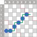 Halma condensed diagonal ladder.png