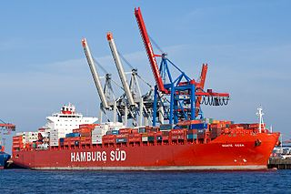 Romania container ship