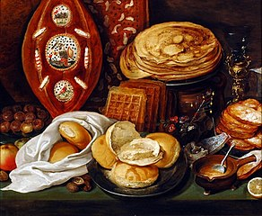 Winter Still Life with Pancakes