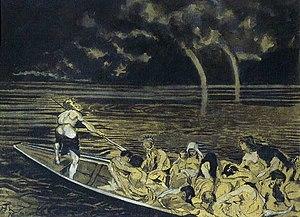 Hans Thoma Mythologische Szene (Charon) 1876.jpg