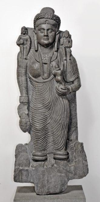 Government Museum and Art Gallery, Chandigarh - Hariti, c. 2nd century AD, Gandhara