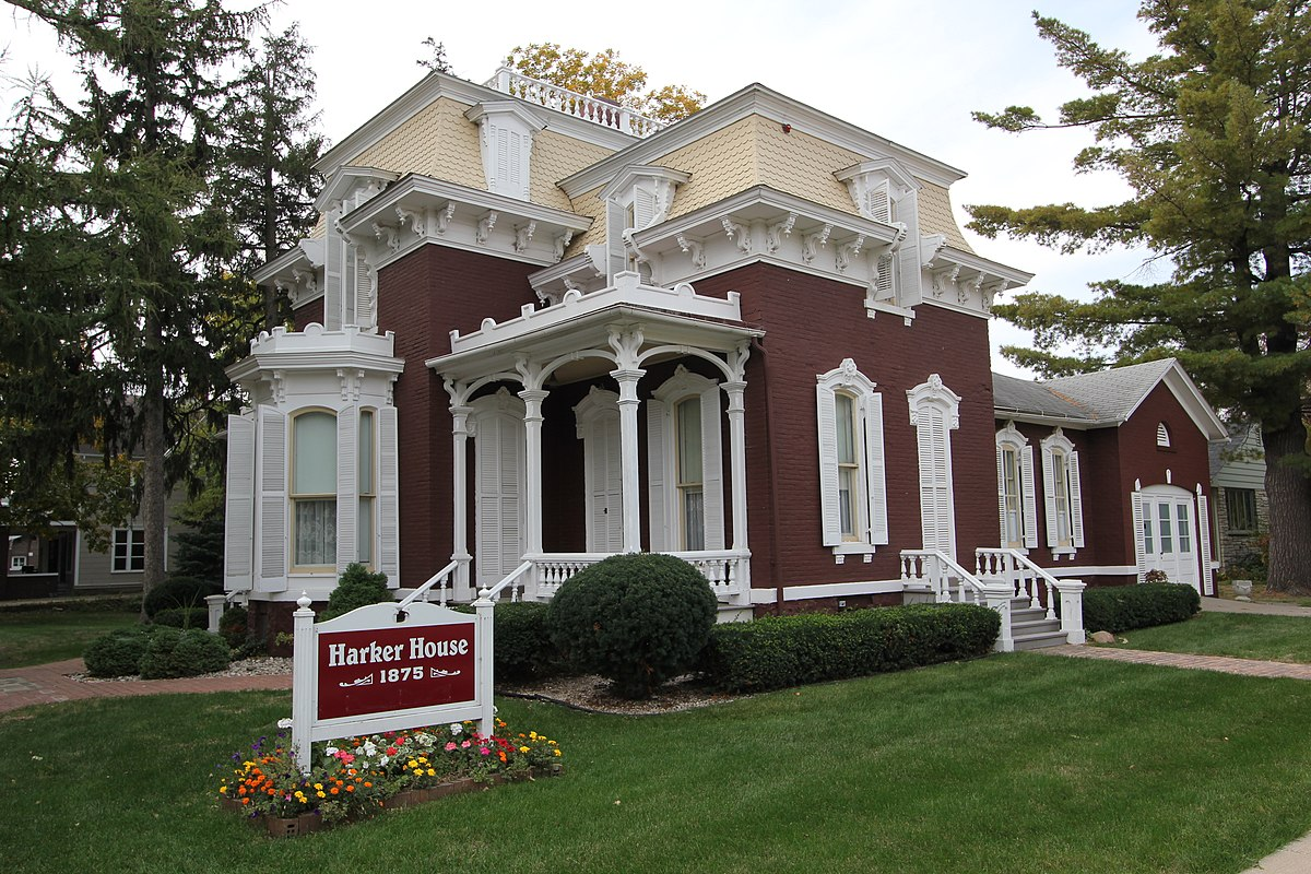 Harker House Storm Lake Iowa Wikipedia