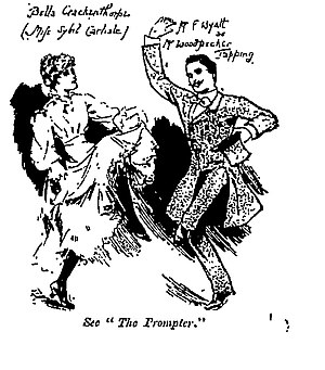 Haste to the Wedding - Woodpecker Tapping (Frank Wyatt) dancing with Bella Crackenthorpe (Sybil Carlisle)
