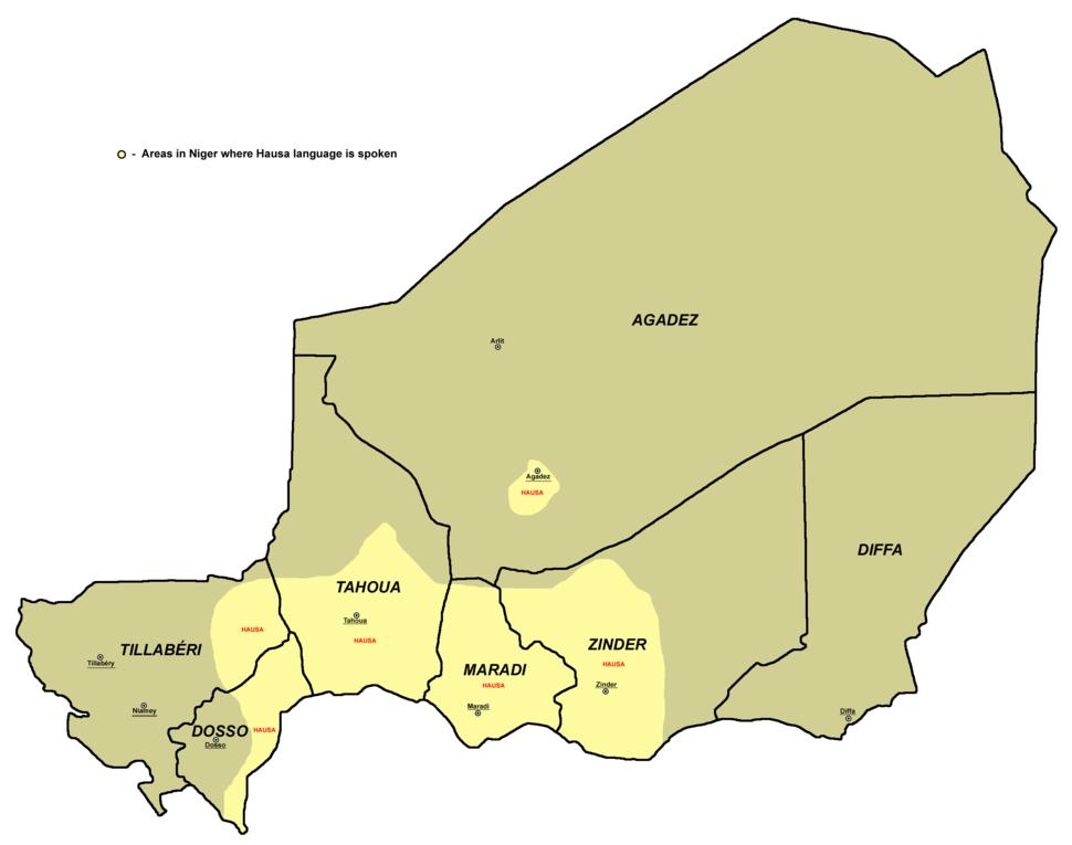 Hausa language niger