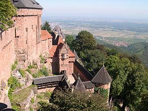Château du Haut-Kœnigsbourg tour which was par...