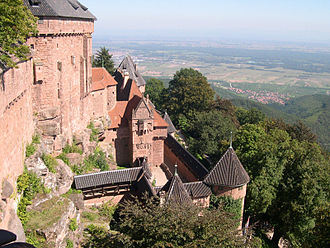 La Grande Illusion - Château du Haut-Kœnigsbourg, which appears in the film.