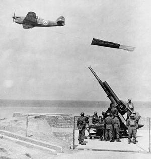 Hawker Henley - Hawker Henley deploying drogue target