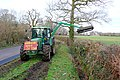 Hedge Cutting at The Holm Bushes. - geograph.org.uk - 1192331.jpg