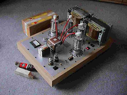 Valve audio amplifier technical specification - Wikiwand