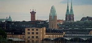 Helsinki Central Station - Helsinki Central's tower.