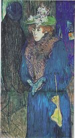 Henri de Toulouse-Lautrec - Jane Avril betritt das Moulin Rouge - 1892.jpeg