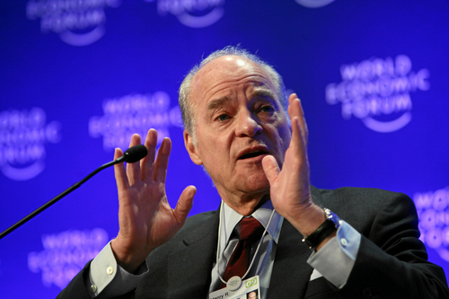 Henry Kravis of the famous LBO firm, KKR