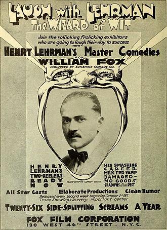 Henry Lehrman - Advertisement, 1917